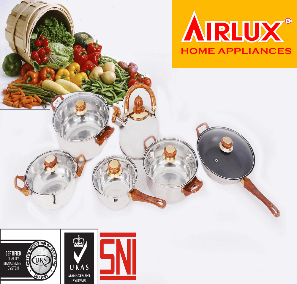 multipurpose pan cookware set made of alluminium