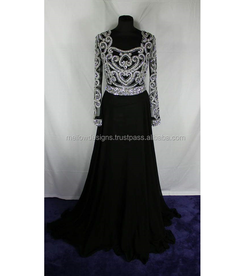 black maxi dress,evening Gown prom dress