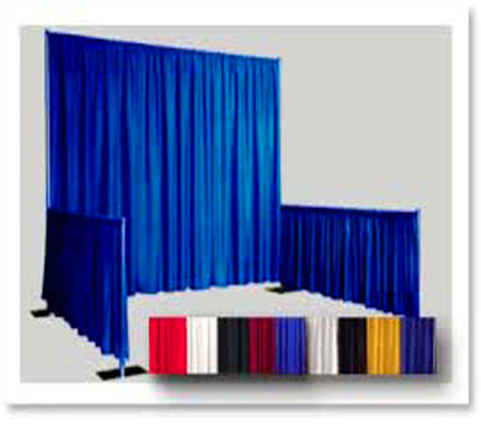 RK Pipe and drape trade show booth exhibit display for sale