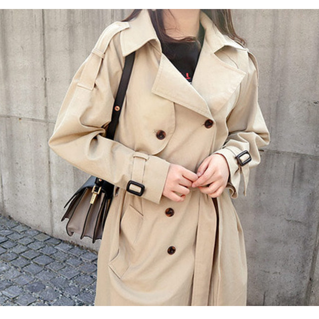 REALCOCO fashion clothing 2017 trench coat