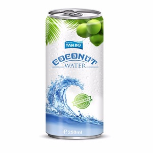 Pure Coconut Water in Private Label with Wholesale price