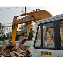 good work Used Kato HD250 cheap excavator for sale