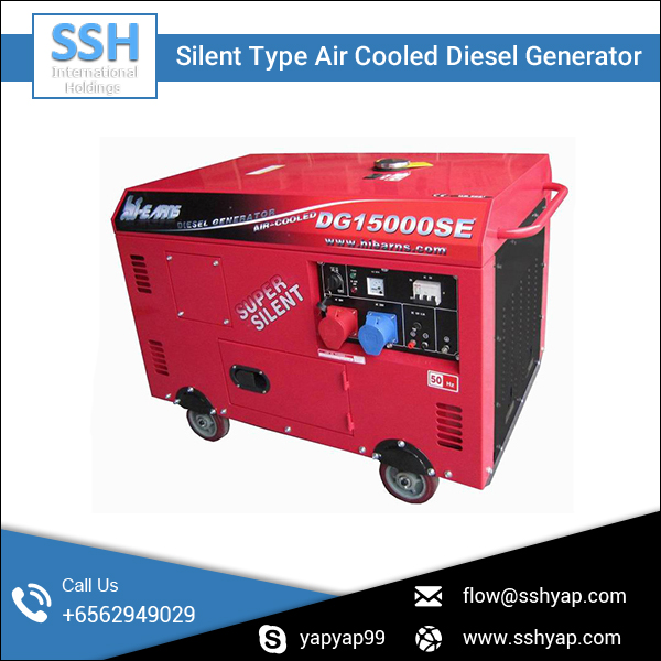 AC Single Phase Air Cooled 5kva Silent Diesel Generator