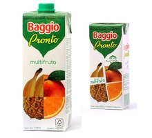 Fruit Juice with pulp BAGGIO PRONTO - 200cc
