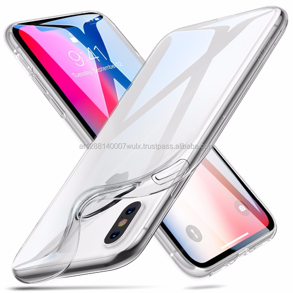For iPhone X 7 7Plus 6 6Splus 5 5s SE Case Slim Clear Soft TPU Cover