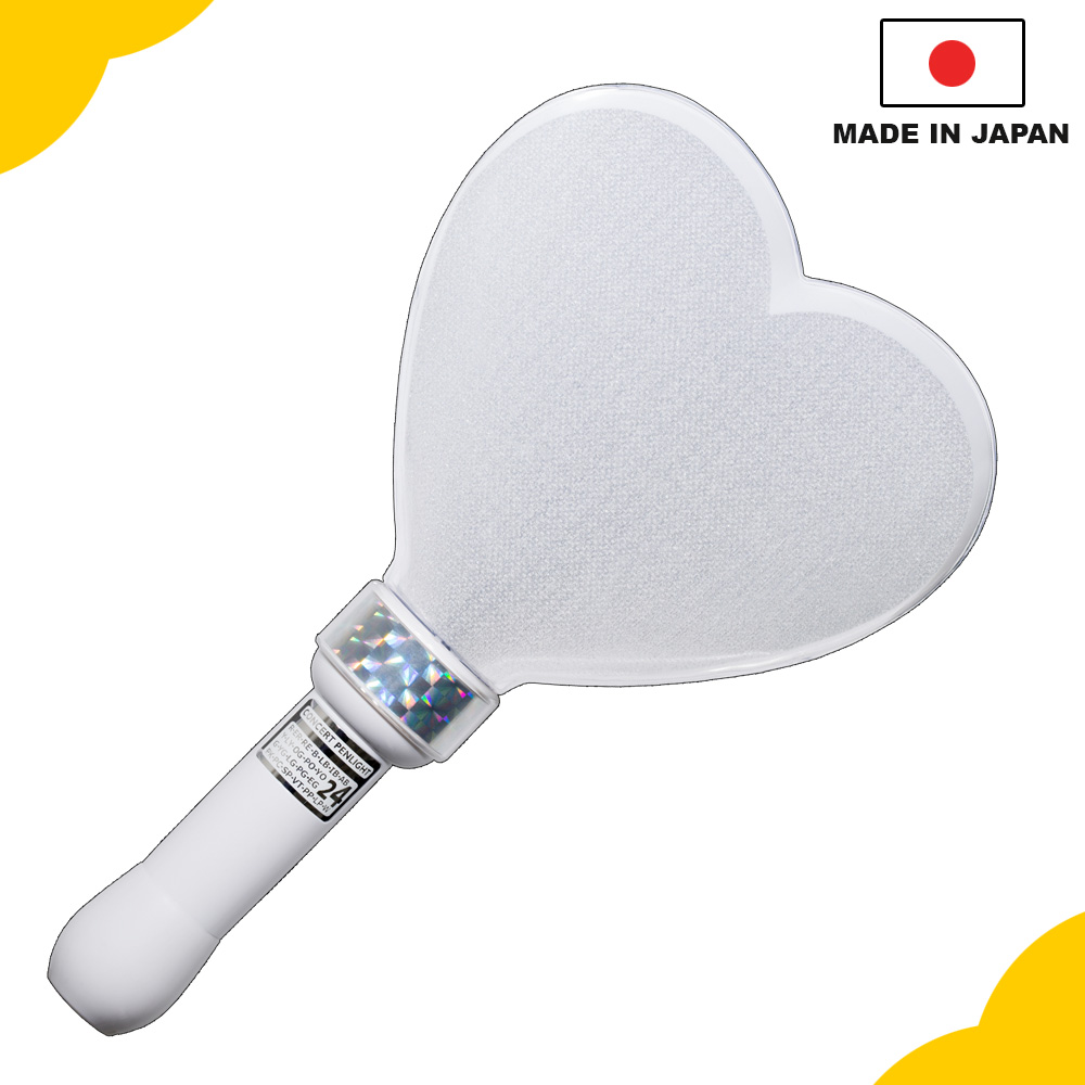 Original and unique flashing light, Mix Penlight Pro 24 colors Kirakira heart M for concert and event, OEM available