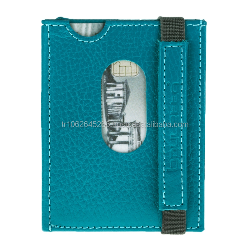 2017 trending products Designer Genuine Leather Credit Card Holder and Wallet from Turkey Istanbul