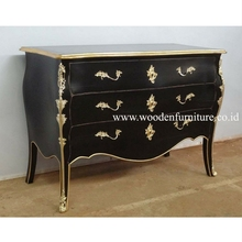 Chest of Drawers Antique Reproduction Bedroom Cabinet Wooden Vintage Commode European Home Furniture French Style Bedroom
