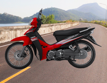 Geared Motorcycle 110 cc