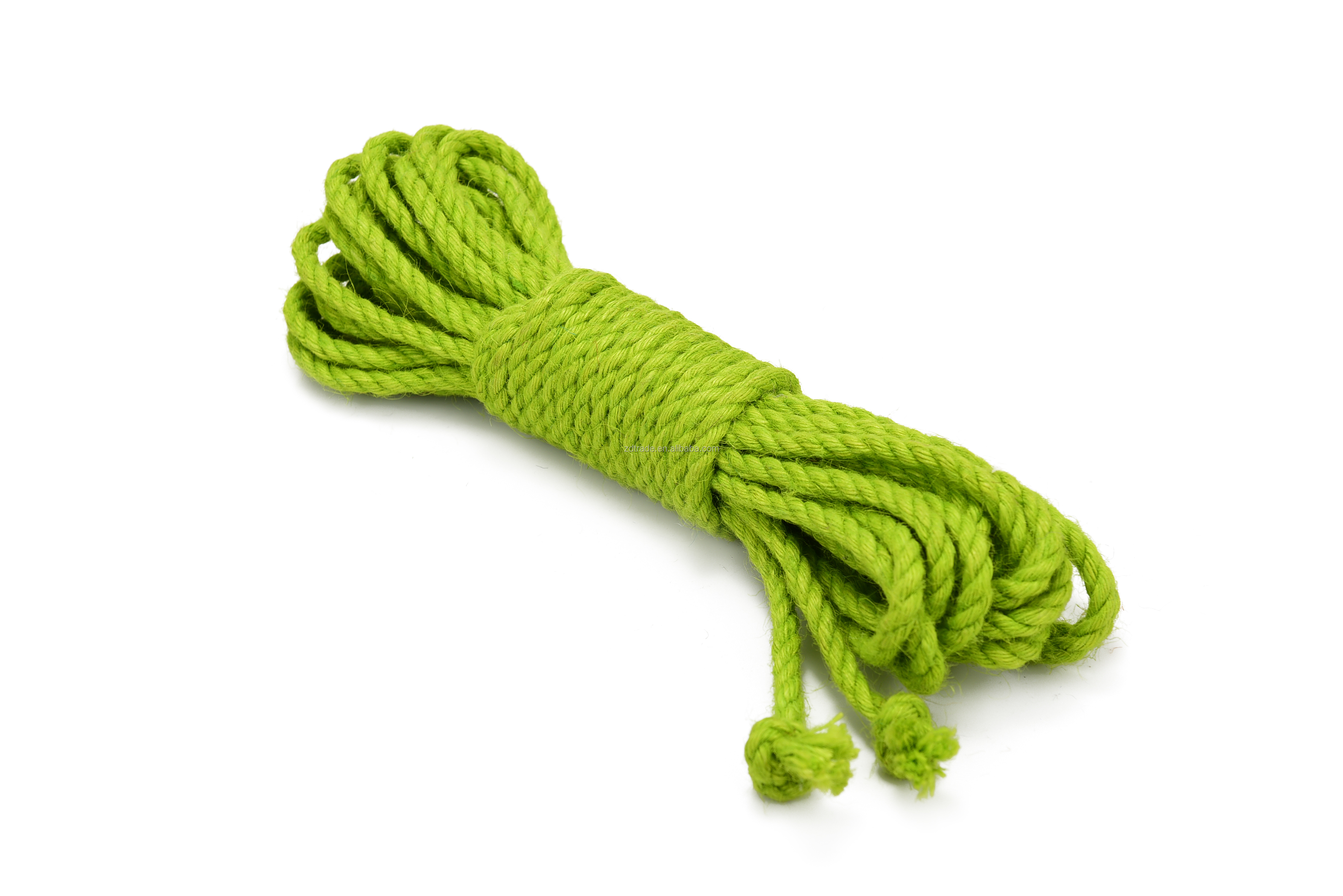 6MM Bondage JUTE ROPE  10Yards Japanese Shibari Rope
