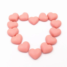 Fruit Flavor Sugar Coated Heart Shape Gummy Candy