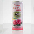 Rose Milk Drink Tin can 240ml