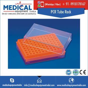 Tough & Transparent Polycarbonate PCR Centrifuge Tubes Float Rack
