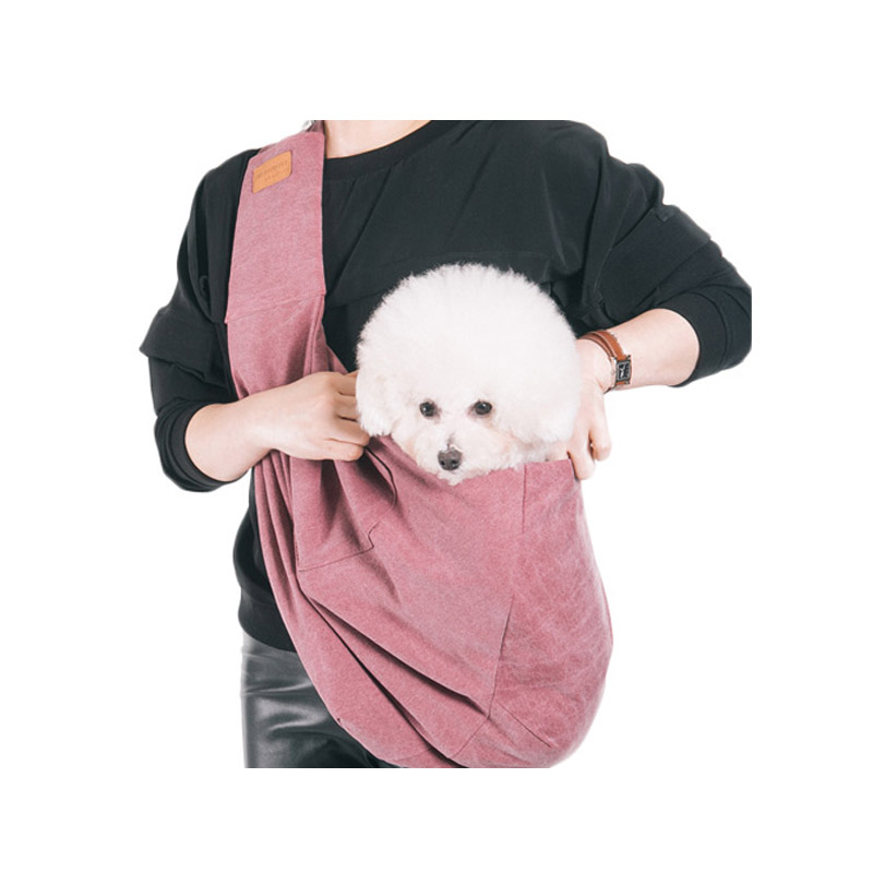 2018 New design canvas pet travel products dog carrier bag NEWDAYSLING Wine