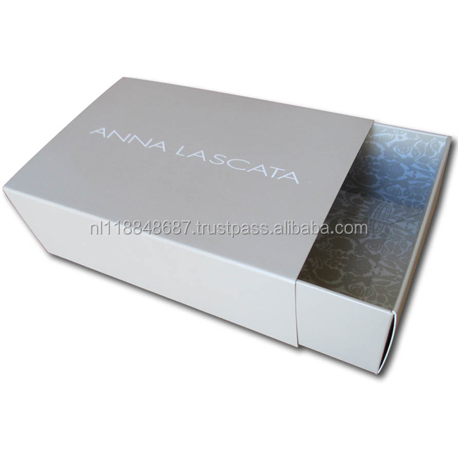 slide open box with Pull-out drawer, cardboard box and sleeve, slide box packaging