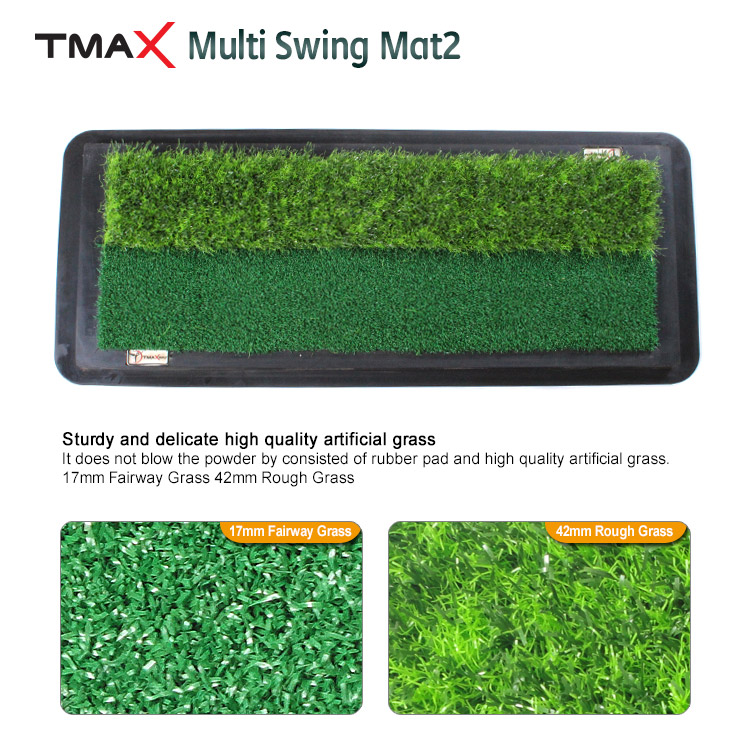 MULTI SWING MAT2 / GOLF PRACTICE MAT / GOLF HITTING MAT