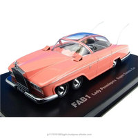 Fashionable and Realistic 1/43 scale thunderbirds fab1 penelope , kids toys car , diecast car