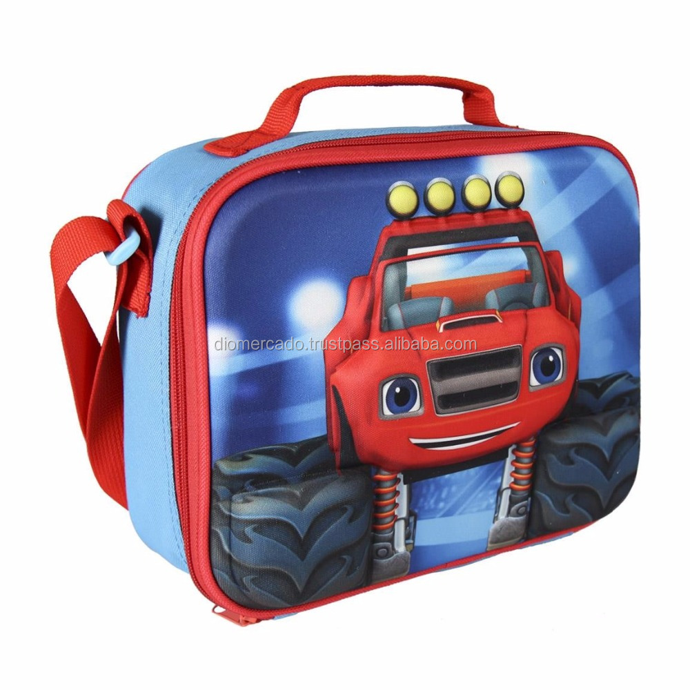 Insulated lunch bag for kids 3D Blaze 235X195X80MM