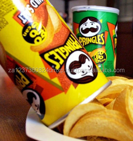 Top Quality Pringles Potato Chips All Favours