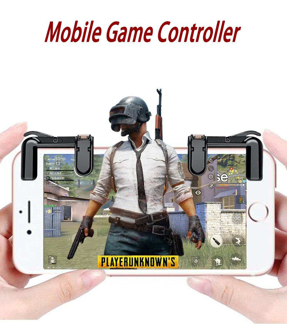 4th Generation Mobile Game Handle smartphone joystick Handle Controller For Fortnite Mobile