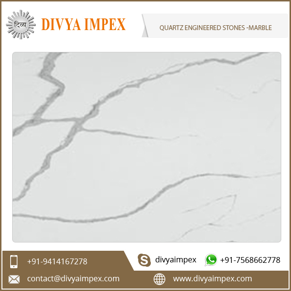 Artificial Quartz Stone Slab - Marble Series