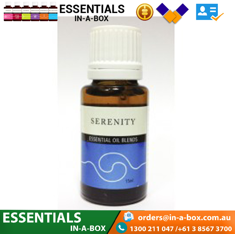 Pure Serenity Essential Oil Blends With Rose, Sandalwood & Lavender.