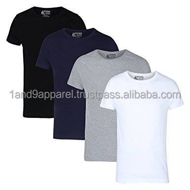 Garments stock lot Bangladesh mens basic t shirt in dhaka