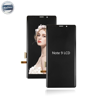 Wholesale Mobile Phone Original Full Hd Big  Screen For Samsung Galaxy Note 9 N960f Phone Lcd Display With Frame