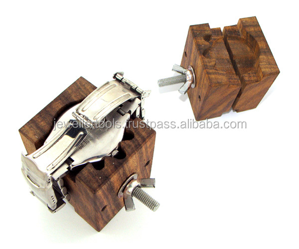 WATCH HOLDER HOLDING CUBE WOODEN
