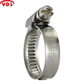 Germany Type Worm Driver Hose Pipe Clamp For Gasoline Engine