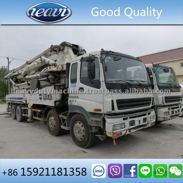 Used Zoomlion 48m Concrete Pump Truck