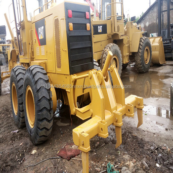CATERPILLAR 120G 12G used motor grader Japan's original JAPAN new caterpillar 140k motor grader for sale