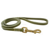 leashes braided leather dog LEASH