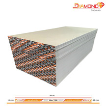 Gypsum Board Thailand, Standard model size 9mm, High grade fire resistant gypsum wall decoration