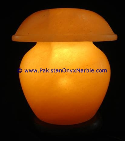 MANUFACTURER AND EXPORTERS DECORATIVE HIMALAYAN IONIC SALT CRYSTAL UMBRELLA LAMP