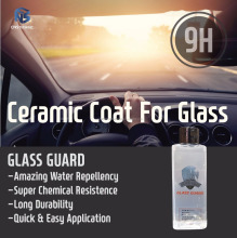 GLASS GUARD- Super Hydrophobic Nano-ceramic coating for glass (Windshield, Window, Mirror, Building, Sculpture, Interior, House)