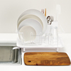 Stylish and Best-selling cutlery box dish drainer with drainpipe