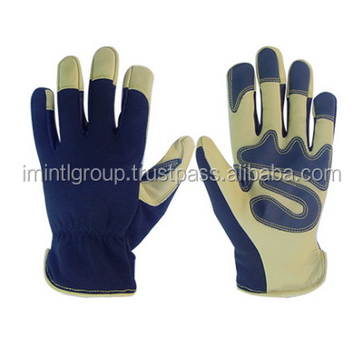 Wholesale factory Price Amara Leather Mechanic Glove