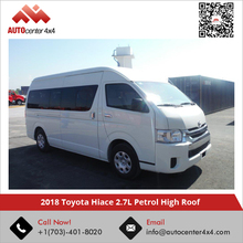 2018 Toyota Hiace 2.7L Petrol High Roof