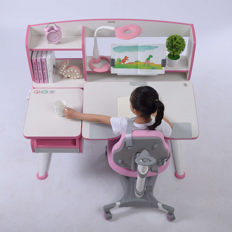 Kids Table Chair Set for Student Study Table for Homework