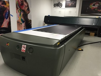 Inca Spyder V Flatbed UV printer