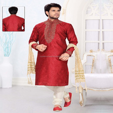 white indian kurta collar designs for men