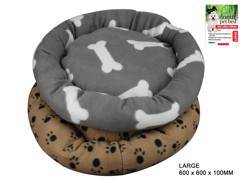 Donut Pet Bed - Large