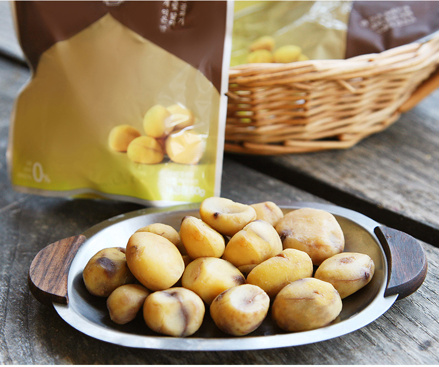 High quality organic Sangol peeled chestnuts snack