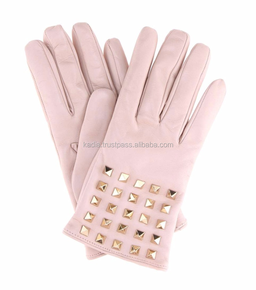 Ladies Fashion Leather Gloves