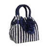 Thailand Stripe Pattern Quilted Cotton Handbag