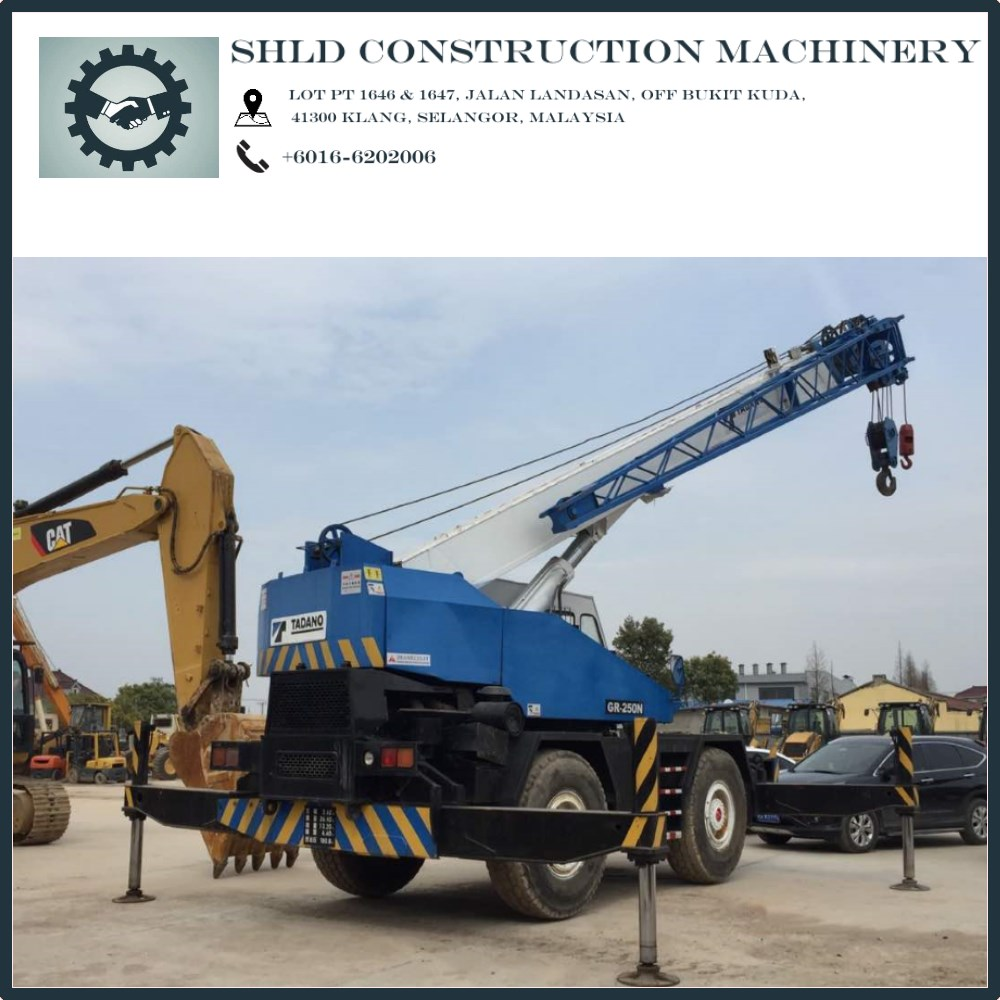 Good Quality Mobile Crane For Sale in Malaysia