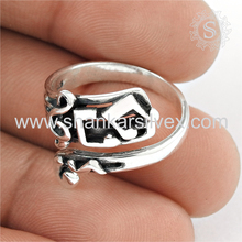 Lovable designer plain silver ring handmade 925 sterling silver rings jewelry wholesale supplier