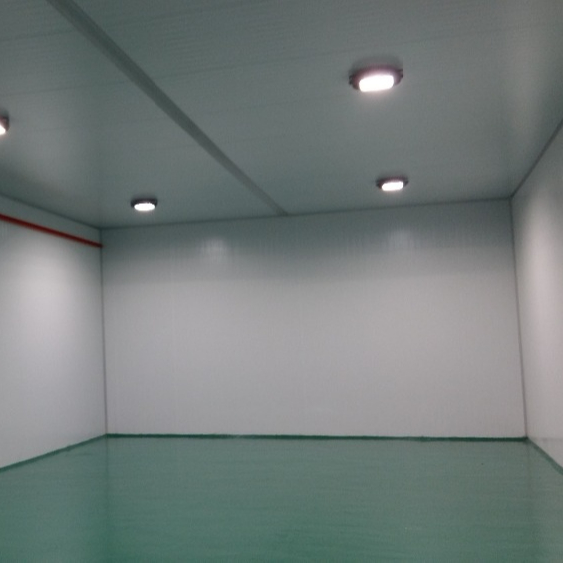 Polyurethane Foam Panels for Production Room