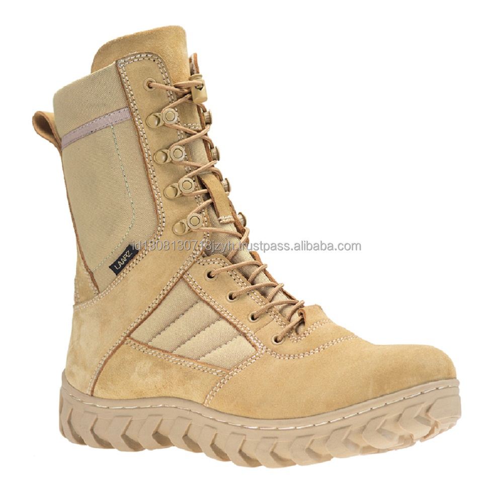 High Quality Military Leather Boot for men (SAHARA)